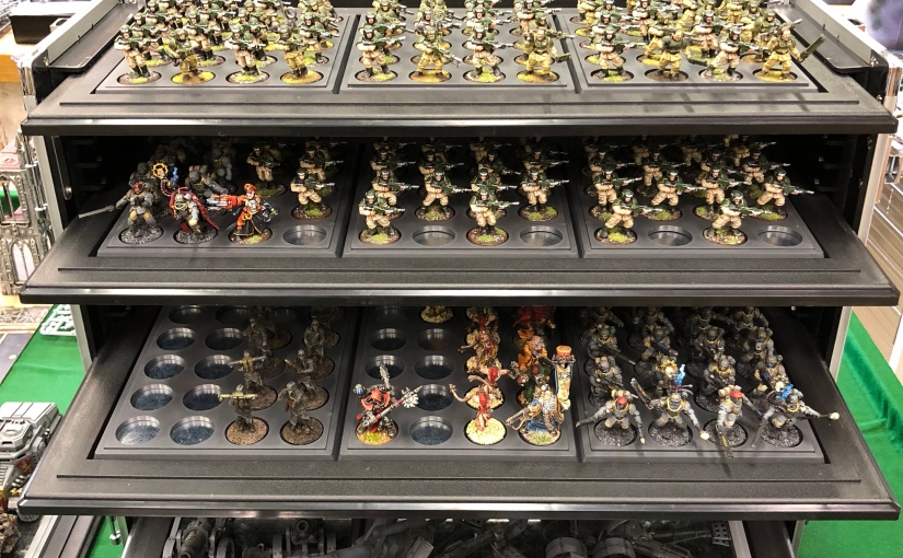 Organizing and Storing Warhammer Figures